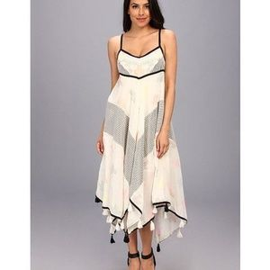 Free People 'Crossing Paths' Dress in Cream Combo